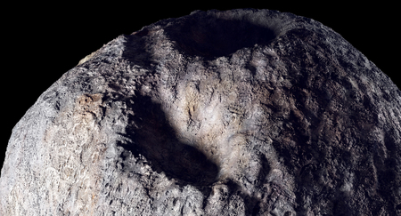 Metal Asteroid 3D Imagery