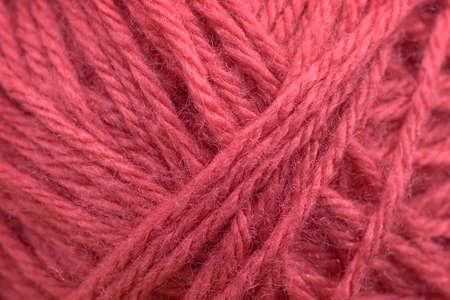 background of pink yarn closeup Standard-Bild