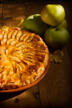 Homemade apple pie. Spanish food Standard-Bild