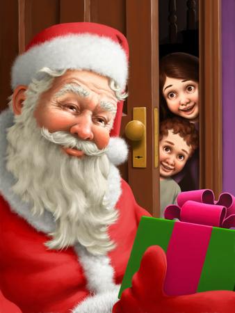 Santa Claus Фото со стока