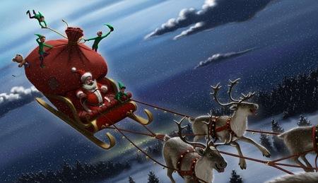 サンタ クロース 写真素材