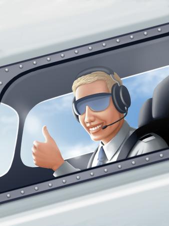 pilot cockpit: Pilot