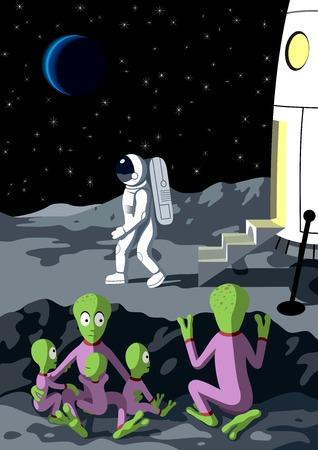 Alien Иллюстрация