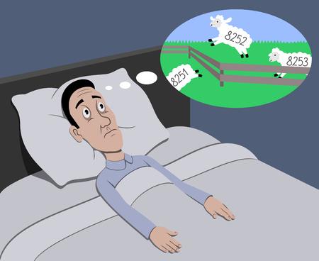 unhealth: Insomnia Illustration