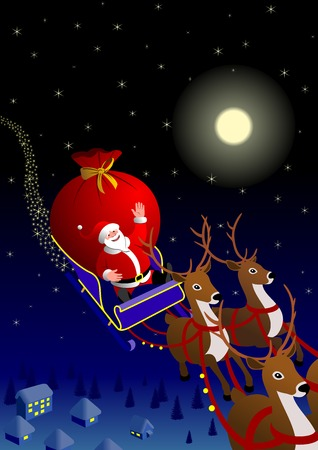 Santa Claus Иллюстрация