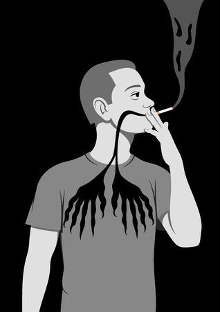 Smoking is hazardous to health