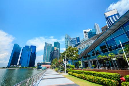 Singapore Skyline at The One Flurerton