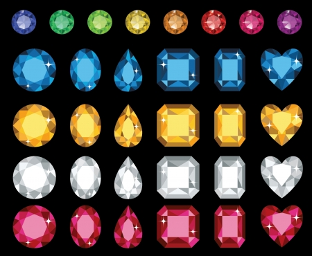 diamond: Diamond Necklace Illustration