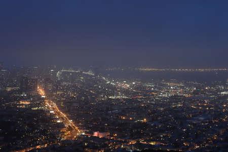 drove: San Francisco drove night