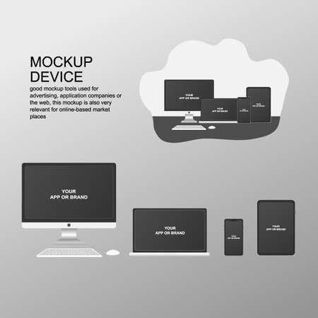 device mockup vector