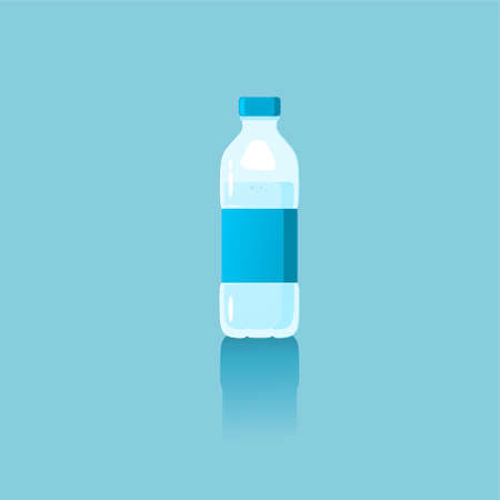 mineral drinking bottles, templates suitable for retailing and selling drinking water, eps files that can be edited layer by layer