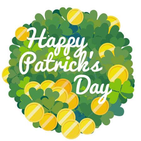 patrick's: Saint Patricks Day. Template.