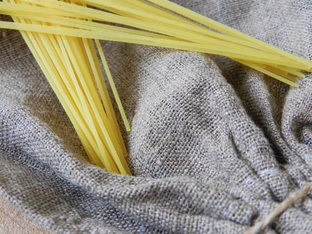sac: Sac with spaghetti texture