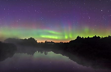 polaris: aurora borealis
