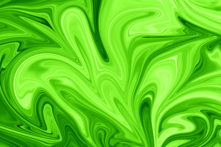 eSport background. Liquid Abstract Pattern With UFO Green And Black Graphics Color Art Form. Digital Background With Liquid Poisonous Abstract UFO Green Flow.