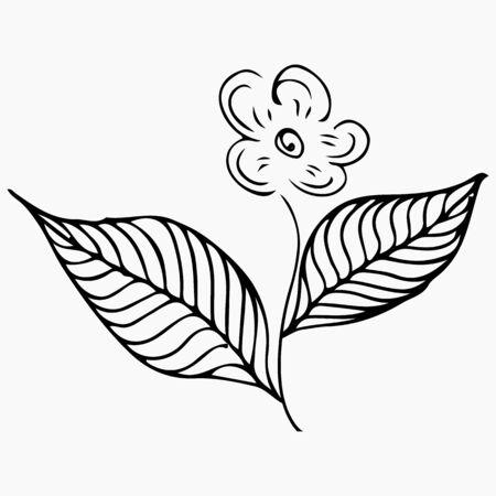 Line art pattern. Ilustrace