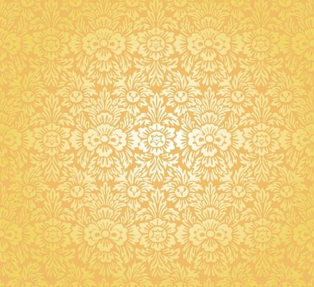 uninterrupted: flower background Illustration