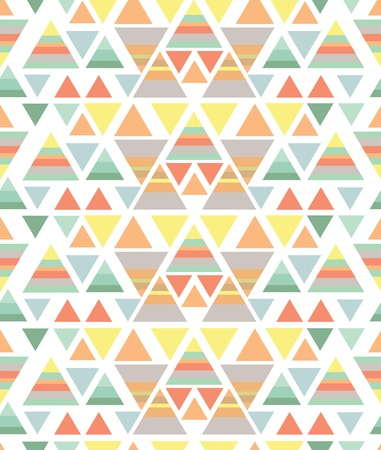 triangular shape: colored geometric pattern on a white background
