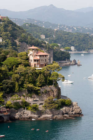 Luxury Villa on the rock near Portofino, Italy