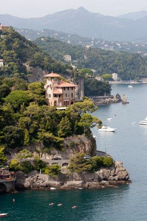 Luxury Villa on the rock near Portofino, Italy