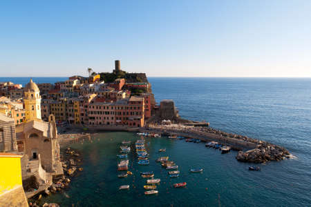 Vernazza is the fourth town heading north in Cinque Terre National Park Italy photo