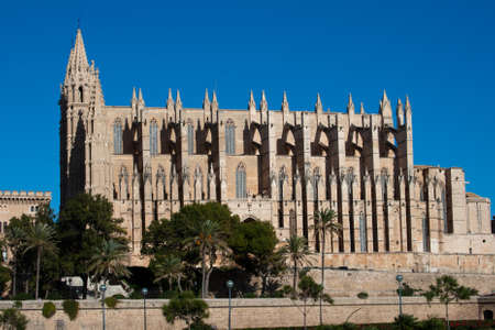 La Seu Cathedral, Palma, Majorca, Balearic Islands, Spain photo