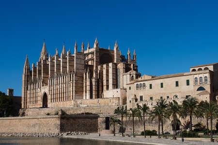 Cathedral of Palma de Majorca , Balearic islands , Spain photo