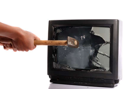 Do not waste your time, destroy your TV photo