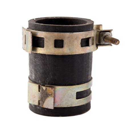 clamps: car spare parts - high-pressure rubber tube with clamps