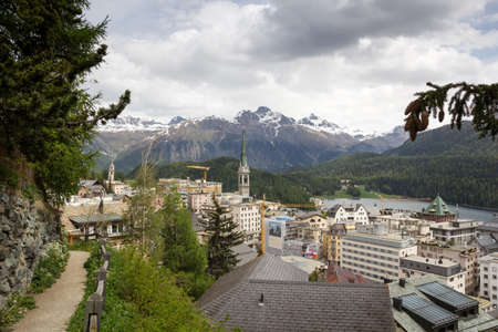 St  Moritz is a resort town in the Engadine valley in Switzerland  St  Moritz has been the host city for the 1928 and 1948 Winter Olympics Games