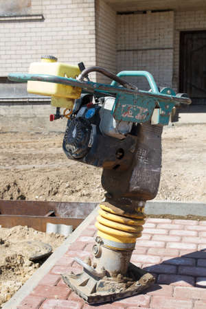 Tamping Rammer at the construction site Stock Photo - 20190910