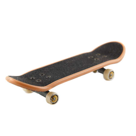 toy skateboard on a white background