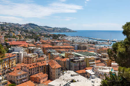 San Remo,  the city is best known as a tourist destination on the Italian Riviera Stock Photo - 29619377