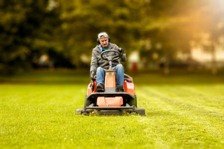 the lawn mower