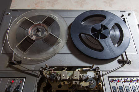 Reel to reel player