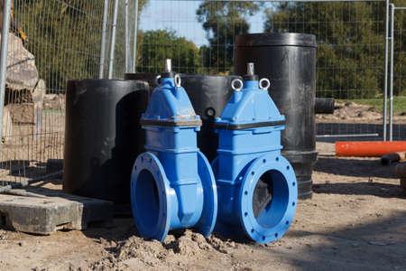 new sewage valves