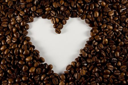 Coffee heart Stock Photo - 6274065