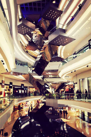 Shopping mall in HK Editorial