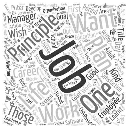 Five Principles For Word Cloud Concept