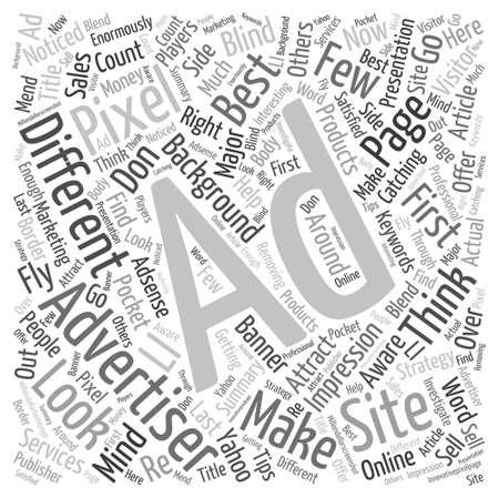 advertiser: Ottenere Concetto Miglior inserzionista Word Cloud Vettoriali