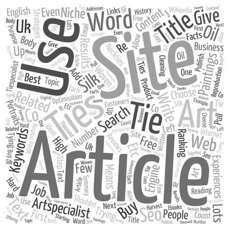 Getting free links Word Cloud Concept Illustration