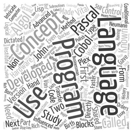 keywords link: history of computer Word Cloud Concept