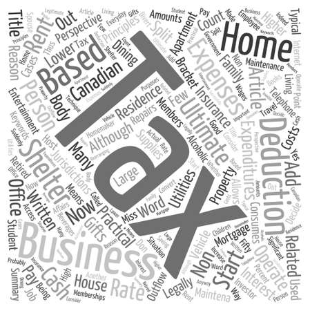 article marketing: Home Based Business Word Cloud Concept