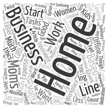 Home Business A Word Cloud Concept