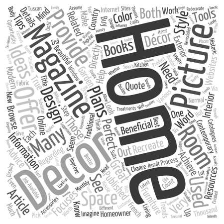 home decorating: Home Decorating Pictures Word Cloud Concept
