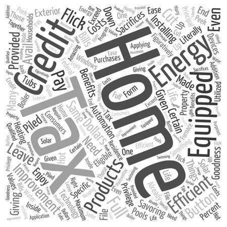 mended: Home Energy Efficiency Word Cloud Concept