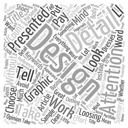 traditionalist: How to choose Word Cloud Concept Illustration