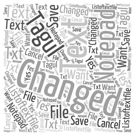 It s Classified Word Cloud Concept Иллюстрация