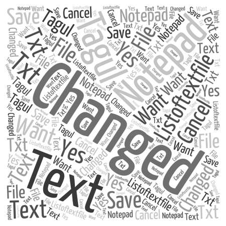 JH improve your Word Cloud Concept Vector