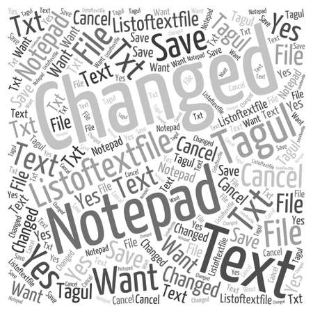JP RSS readers Word Cloud Concept Ilustração